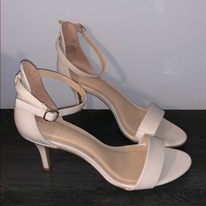 """5479d46f7fc0 Kelly   Katie Shoes - Kelly   Katie """"Kirstie"""" Nude Patent Sandals"""